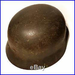 Original WWII German SS Helmet WW2 Stalhelm Eastern Front