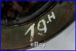 Original World War 2 German M40 Helmet Q66'19. H' Wired