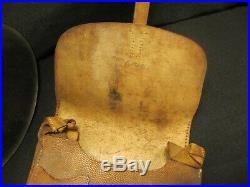 Original Ww2 German M42 Army Helmet With Named Map Case