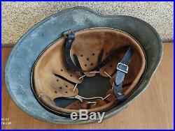 Original nice german helmet M35 size ET66 have a number WW2
