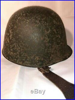 Polish Camo Helmet WZ31 not German WW2 Polnisch