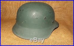 Post WW2 GERMAN HELMET M42/52 M42/55