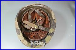 Post WW2 West German Bundeswehr M1 Helmet FJ Paratrooper Jump Helmet RARE COVER