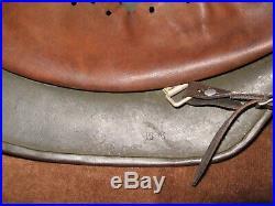 Rare Original Ww2 Dak Afrika Korp Model 35 German Camo Helmet