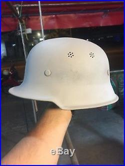 Rare Quality Original WW2 German M34 Civic Helmet with nice Details