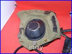 Rare WW2 German Luftwaffe LKpS101 Summer Flying Helmet Size 60
