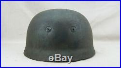 Rare Ww2 German Paratrooper Helmet Big Size, Maker Marked