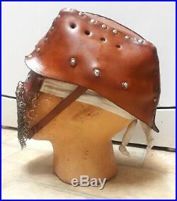 Repro British WW1 Tanker Leather Helmet US German WW2