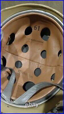 Reproduction German Ww2 M38 Fallshirmjager Paratrooper Steel Helmet Reenactor
