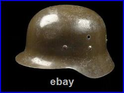 Spanish German Style Military Combat Helmet with Liner WW2