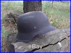 Stahlhelm M42 ET68 German Helmet WW2 Wehrmacht WKII