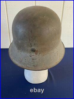 Steel German WW2 helmet M42 between 1935 and 1945