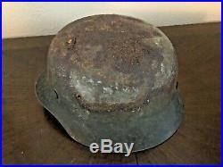 Untouched Original WW2 German helmet