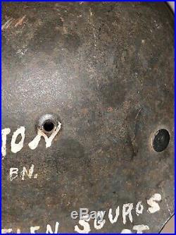 Untouched Original WW2 German helmet M42 CKL Hkp 66 NAMED
