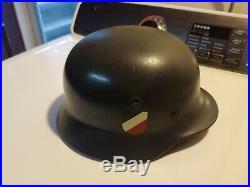 Vintage WW2 German Helmet