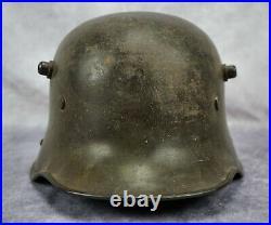 WW1 German M17 combat helmet trench uniform WW2 US Army soldier estate trophy