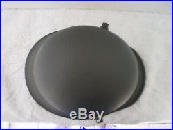 WW1 German steel helmet, transitional, WW2 liner, chinstrap