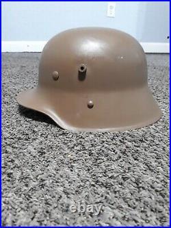 WW1 WW2 Austria Hungary M1917 M17 Stahlhelm Steel Helmet Repro Like German m1916