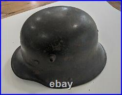 WW1 WW2 German 1916 M16 Stahlhelm Helmet Original