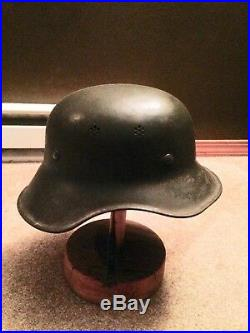 WW2 1943 BULGARIAN GERMAN Original Luftschutz GLADIATOR helmet Single Decal