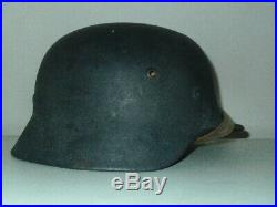 WW2 Authentic German M40 SD Luftwaffe Helmet REAL