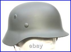 WW2 GERMAN ARMY STEEL HELMET M35 REPRODUCTION 59/60cm