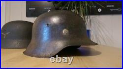 WW2 GERMAN HELMET M42 original Stahlhelm