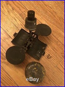 WW2 German 1941 SD2 Butterfly Box Helmet MG42