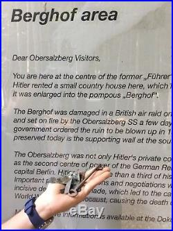 WW2 German Adolf Hitler Berghof Key Obersalzberg Eva Braun Helmet Elmetto