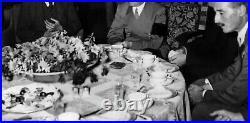 WW2 German Adolf Hitler Berghof Obersalzberg Eva Braun Helmet Platterhof