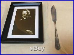 WW2 German Adolf Hitler Eva Braun Knife Fish Berghof Obersalzberg Helmet