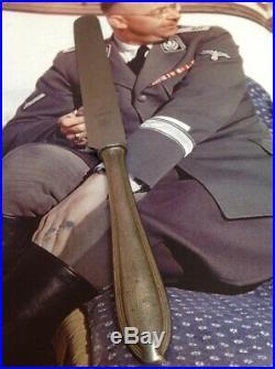WW2 German Adolf Hitler Himmler Knife Obersalzberg Berghof Helmet Eva Braun