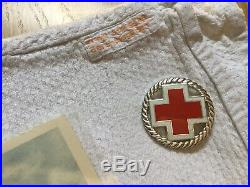 WW2 German Adolf Hitler Lot Nurse Obersalzberg Berghof Helmet Elmetto