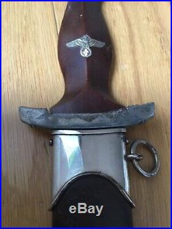 WW2 German Adolf Hitler Original SA Heer Eva Braun Helmet Elmetto