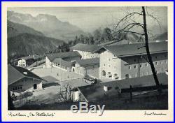 WW2 German Adolf Hitler Platterhof Coaster Obersalzberg Berghof Eva Braun Helmet