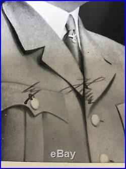 WW2 German Adolf Hitler Signed Berghof Obersalzberg Eva Braun Helmet Elmetto