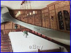 WW2 German Adolf Hitler Spoon Post Card Berghof Obersalzberg Eva Braun Helmet