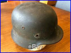 WW2 German Army / Herr Single Decal Camo M40 Helmet Shell ET66