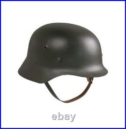 WW2 German Army M40 Stalhelm NEW Reproduction Steel Helmet 57/58CM Field Kit