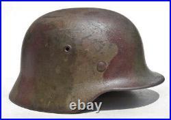 WW2 German Camouflage M40 Helmet