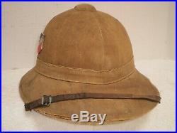 WW2 German DAK Afrika Luftwaffe pith helmet