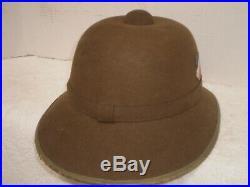 WW2 German DAK Afrika army pith helmet, 1942, size 62, orig