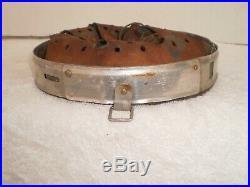 WW2 German Early M31 aluminum helmet liner, size 66/59