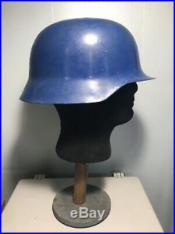 WW2 German Experimental Helmet Taken From Helmet Factory