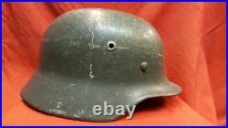 WW2 German Germany Original Army Heer Military M40 Combat Helmet Stalhelm