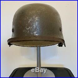 WW2 German Helmet. Double Decal