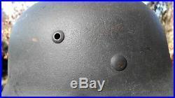 WW2 German Helmet, M35 original mint condition size 66/59