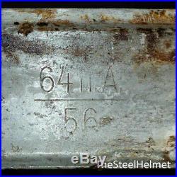 WW2 German Helmet M40 Size 64. The Battle for Stalingrad. World War II Relic