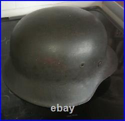 WW2 German Helmet M42 Original Size 68 shell