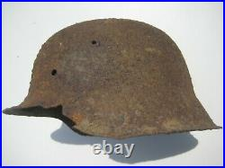 WW2 German Helmet M42 Stalhelm 1943 year